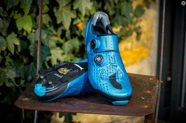 The Shimano S-Phyre XC9s feel good and look the part