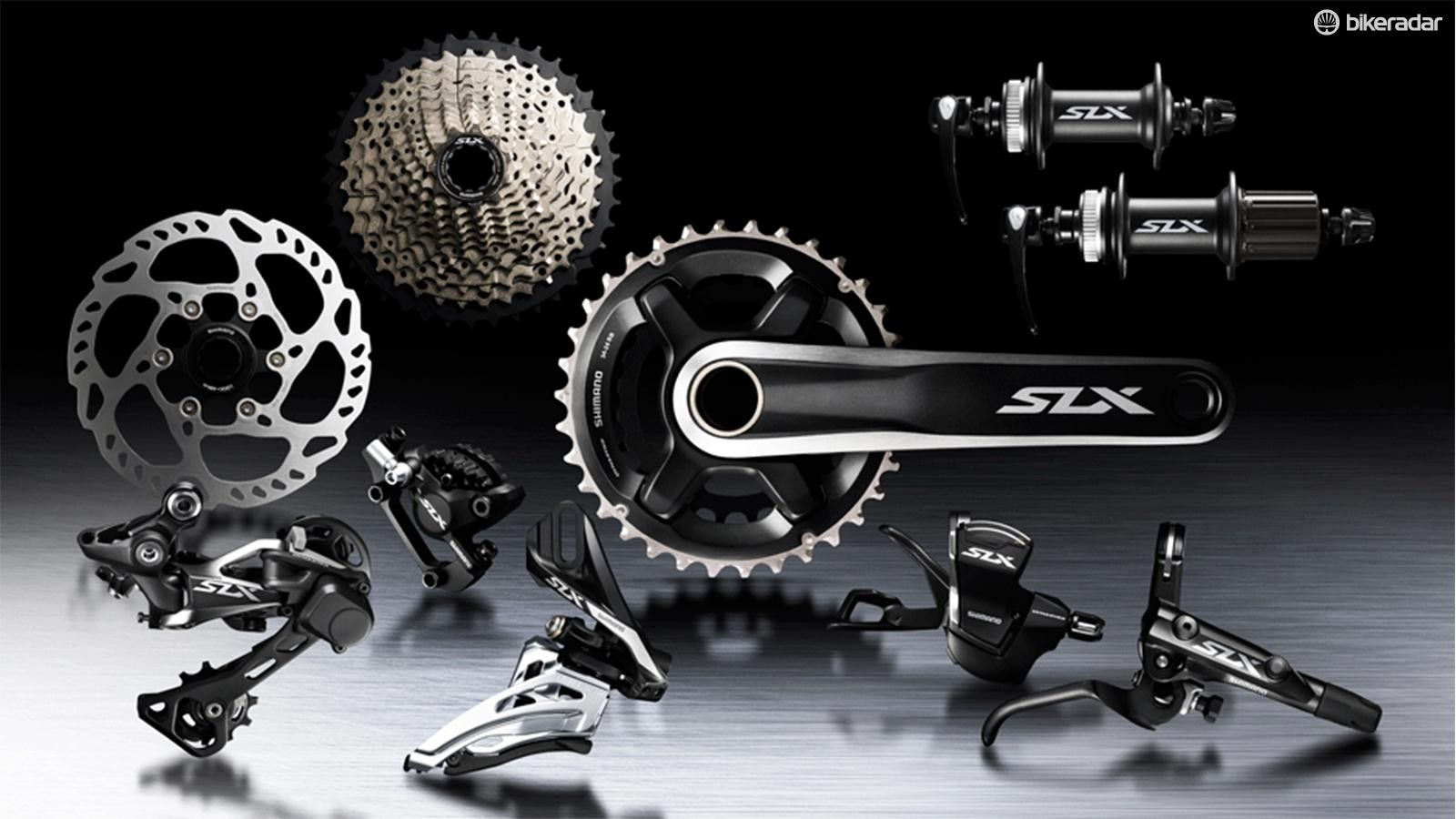 SLX is the entry into 11-speed and 1x11 drivetrains