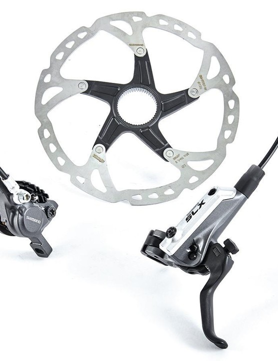Shimano SLX M675 give top-of-the-range performance for a mid-range price