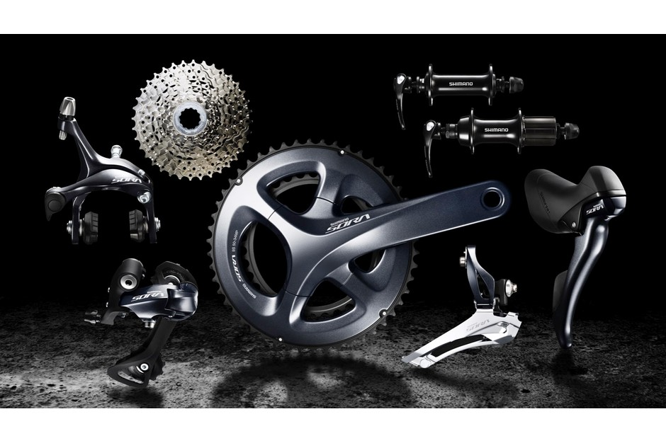 Shimano Sora is a 9-speed groupset commonly seen on many budget road bikes