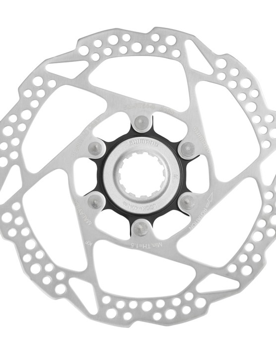 … or stainless steel disc rotors for the new Sora groupset