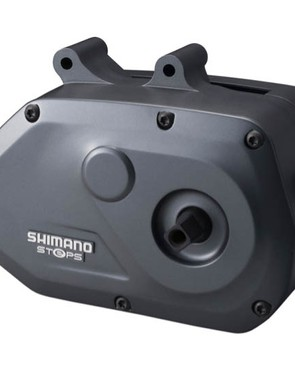 The Shimano STEPS drive unit