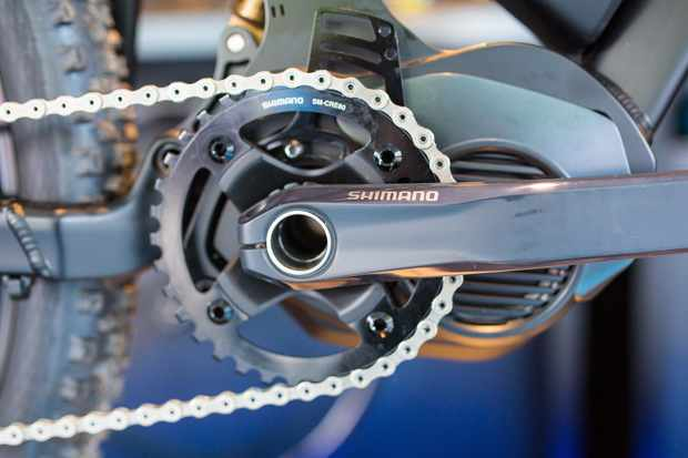 Shimano's STEPS MTB system looks set to take on the might of Bosch