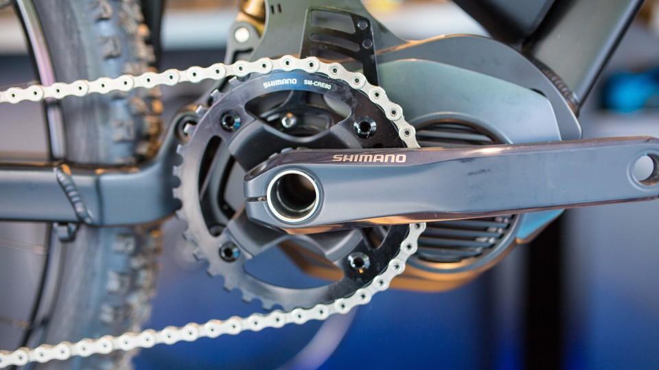 Shimano joins the e-mountain bike fray with E8000 STEPS - BikeRadar