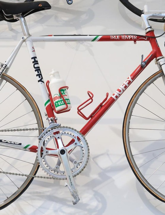 One of Andy Hampsten's 7-Eleven team bikes from his 1988 Giro d'Italia win lives at the museum