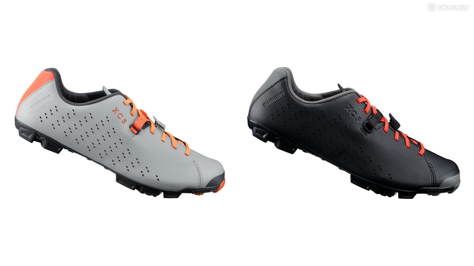 The XC5 is an all-new gravel shoe from Shimano