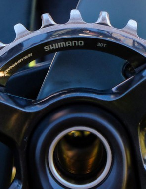 Shimano's narrow-wide XT chainring