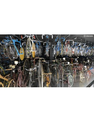 The Sakai Bicycle Museum is part funded by Shimano