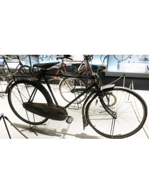 A Japanese bike from 1920, made with the permission of British manufacturer Rudge (making it an early Far Eastern copy)