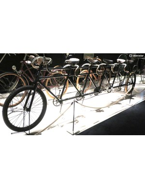 This Dutch quintuplet racer dates from 1897