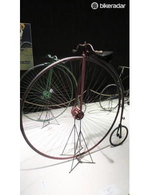 The museum is packed with penny farthings. This one's a Humber Ordinary from 1886