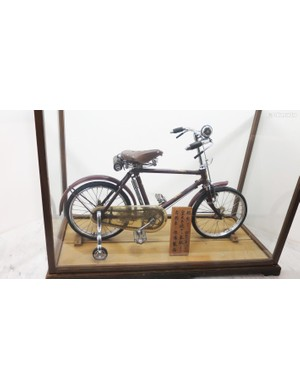 This kids' bike, literally fit for a prince, was also presented by the people of Sakai back in 1936