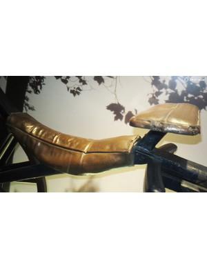 The Draisine's saddle