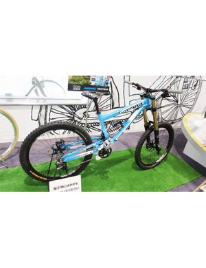 Its not all vintage – the museum has new stuff like Gee Atherton's 2010 World Champs bike