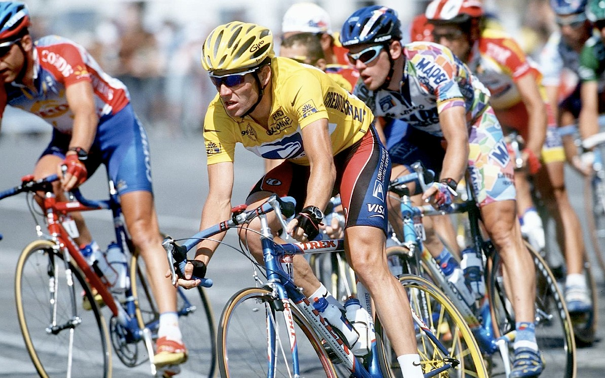 1999: Armstrong and Shimano's first Tour victory, beginning a string of amazing results.