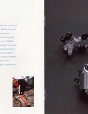 For me, Shimano's softly lit studio shots define the look of mid-nineties mountain biking