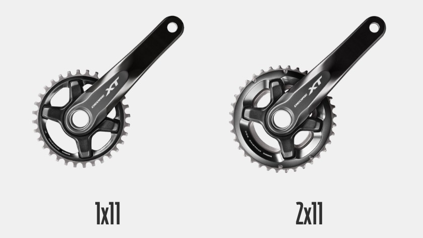 "Should you be on a single or double chainring? According to Shimano, ""There is no single truth"""