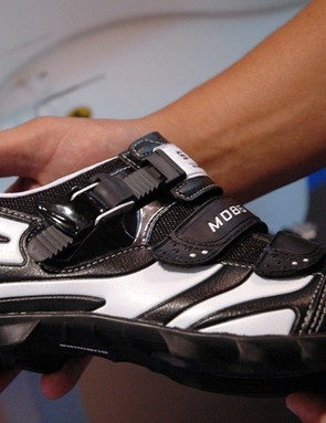 Shimano's new M086 shoes look to be a good value.