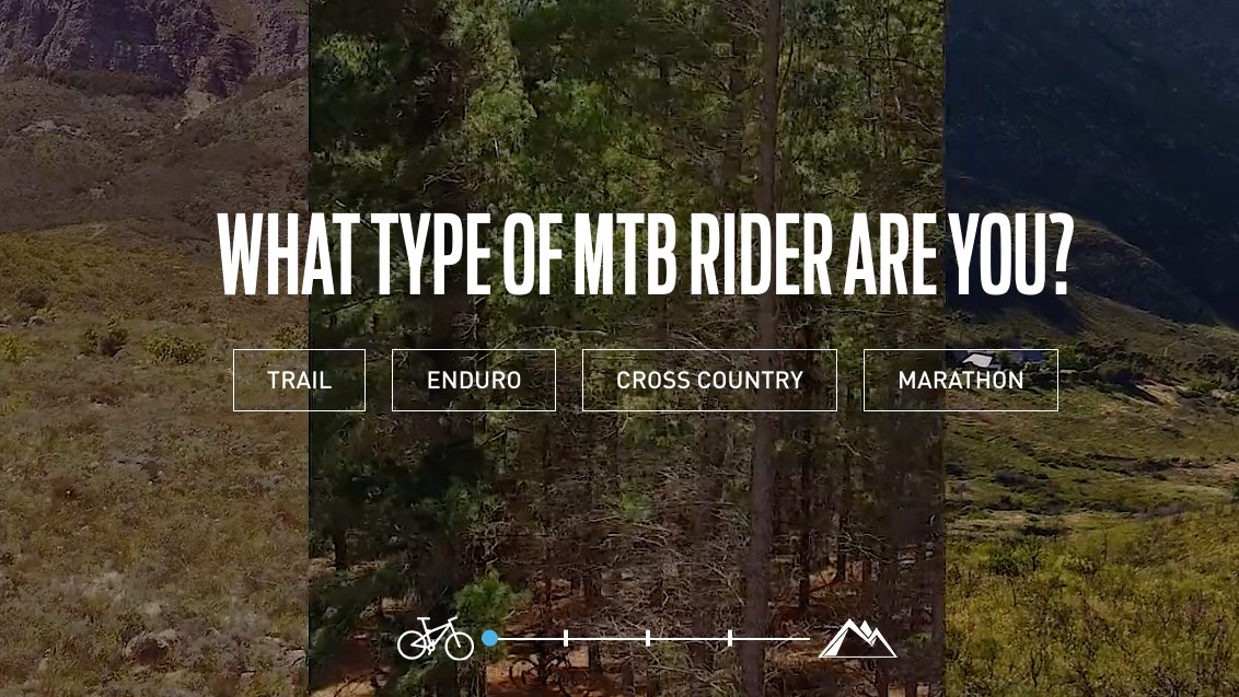 Shimano has created a website to make choosing your drivetrain easier