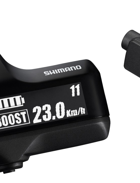 The display unit is as minimalist as the rest of the groupset