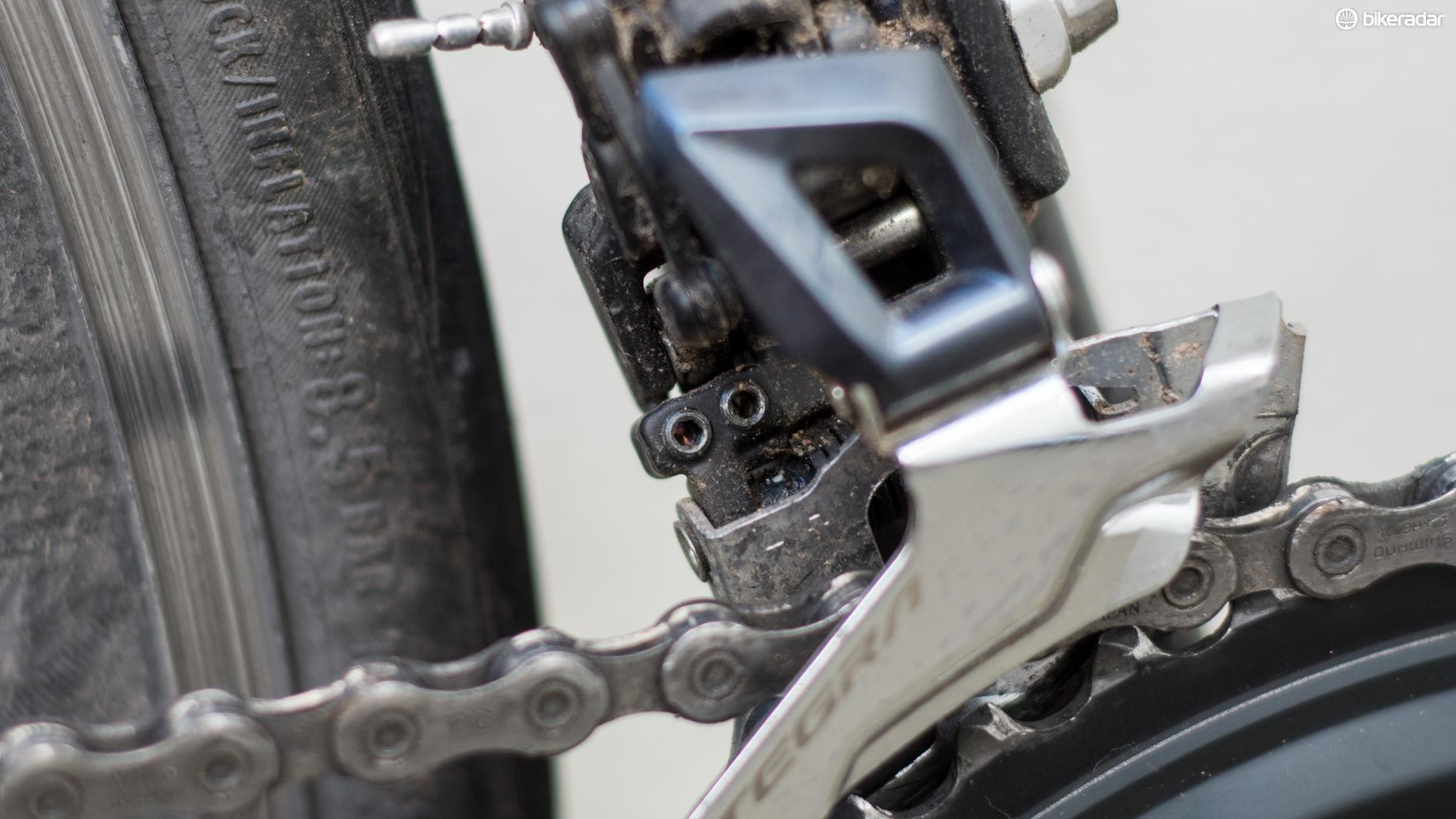 Hex heads are now used in lieu of crosshead screws