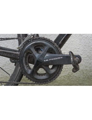 The crankset is often the showpiece of any groupset