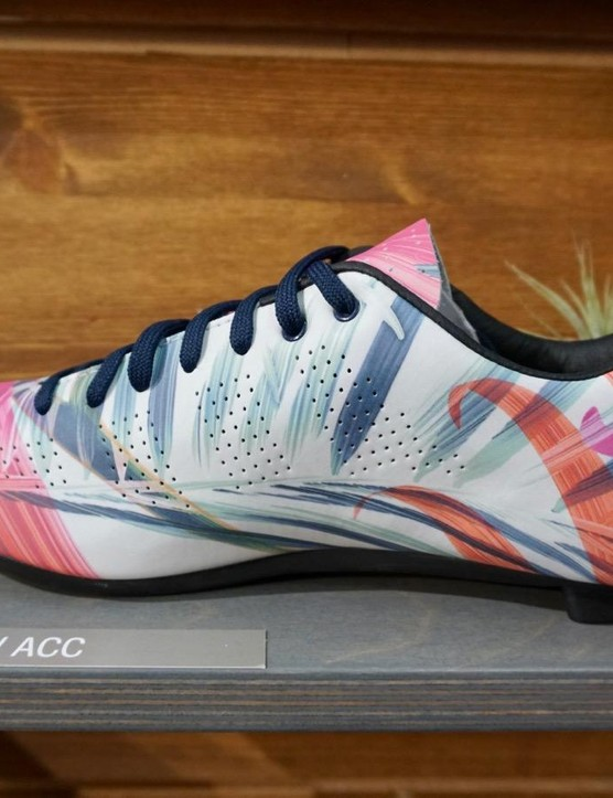 Giro also has a sublimated microfiber for one of the women's Empire models