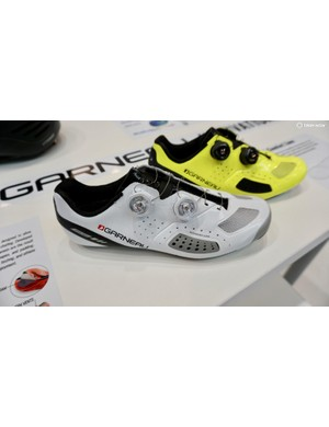 Garneau won a Eurobike award with shoes that expand up to 5mm outwards at the foot's widest part