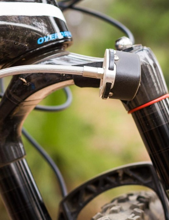 The Shockwiz system was acquired by SRAM this summer and promises better suspension set-up through science