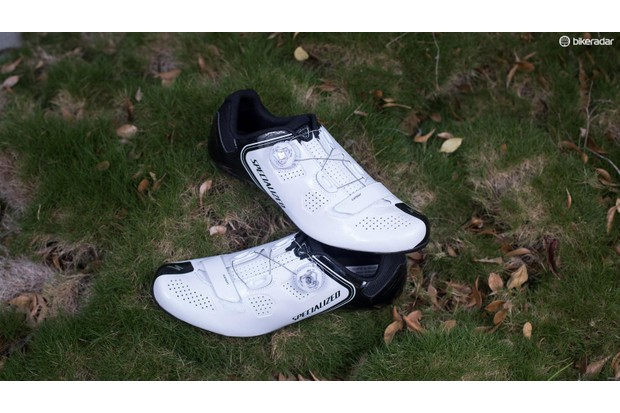 Cycling shoes often have threads for your cleats