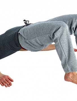 The bridge is a good exercise for strengthening gluteal muscles