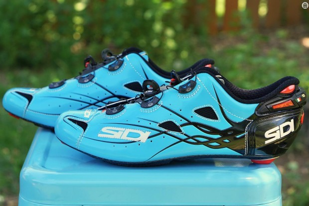 Sidi's pedigree in cycling goes back to the 1970s, and the Shot is the Italian brand's top-end shoe