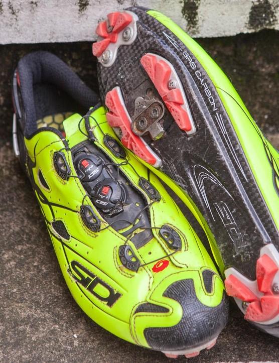 Sidi's super high-end Tiger shoe