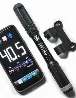 Silca's Tattico Bluetooth mini-pump