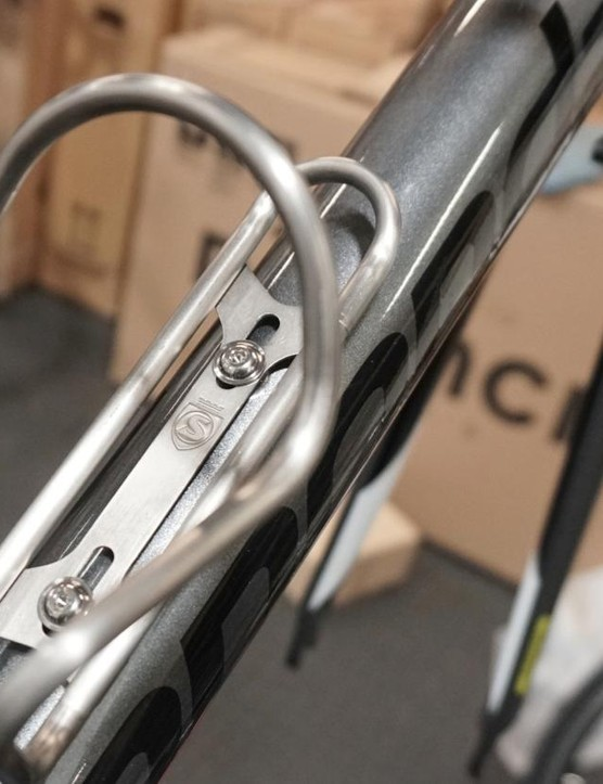 A 25 year warranty is impressive for a water bottle cage!