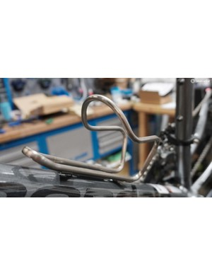 Titanium loveliness to adorn your bike and carry your bottles