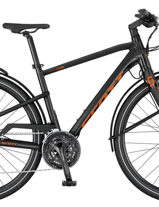 The Silence 20 gets a 3x10 speed Deore drivetrain