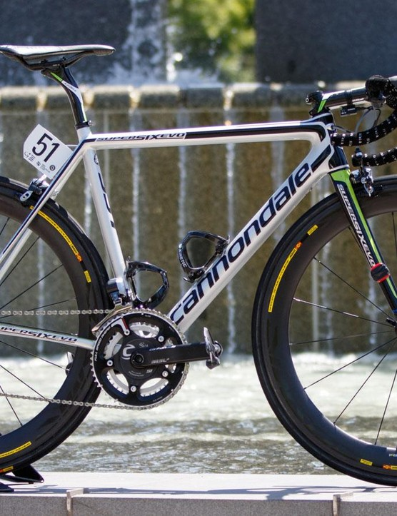 Australian Simon Clarke is new to the Cannondale Pro Cycling team. Here's his fresh Cannondale SuperSix EVO Hi-Mod
