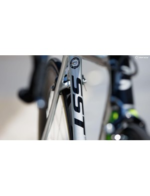 We believe the 'SST' stands for 'Speed Save Technology', which refers to Cannondale's race-focused comfort enhancements