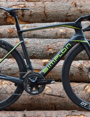 The Simplon Pride is an all-new aero machine with discs