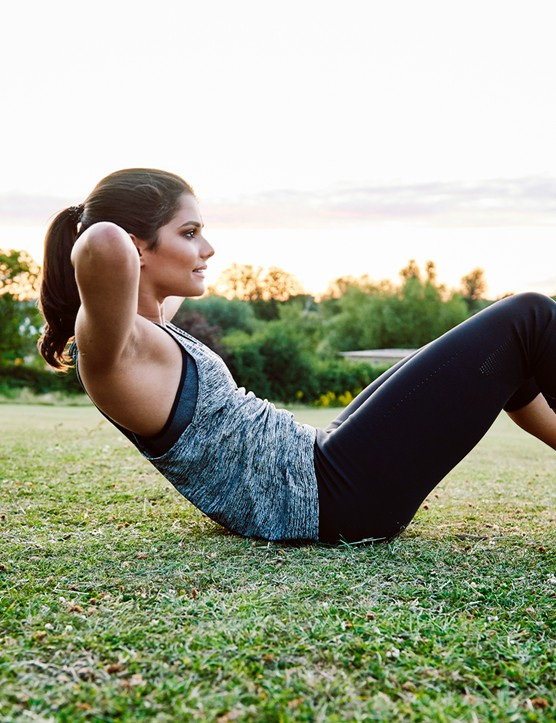 Use these exercises to work some of the muscles that cycling misses