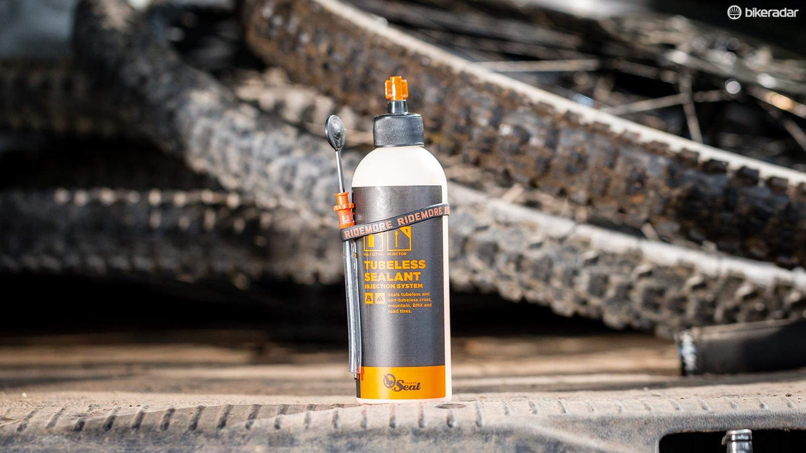 We've had the best performance with Orange Seal for tubeless tyres
