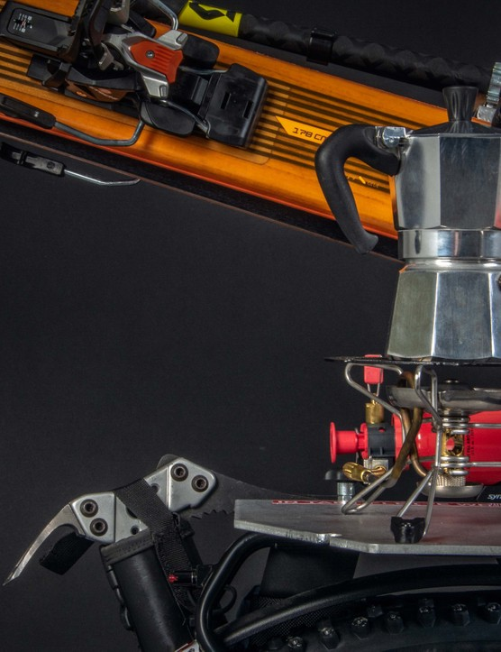 There's even space for the all-important moka pot