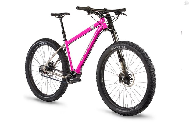 Domahidy Designs is now Viral Bikes and the All Mountain Hardtail is now called The Skeptic