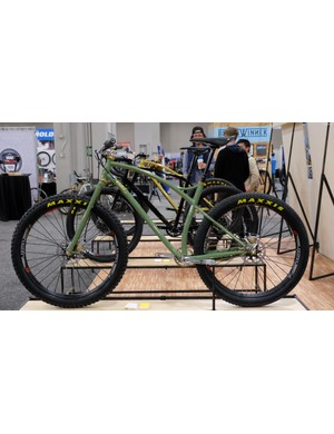 Sklar's curvaceous 27.5+ mountain bike