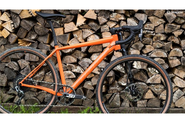 Cannondale Slate was one of the first gravel bikes equipped with a suspension fork