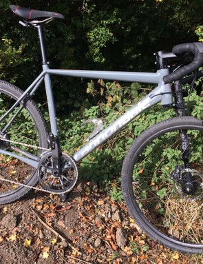 The Cannondale Slate Ultegra, which has been Warren's long-term bike, has had a few upgrades
