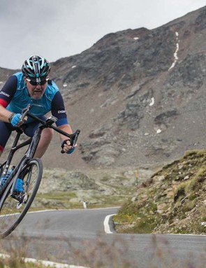 The Defy impresses with its balanced handling when you start to descend