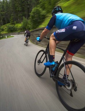 Giant's new Defy Advanced Pro 0 is as happy going downhill as it is heading up