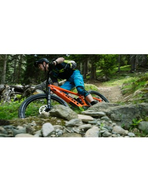 The new Powerfly is an extremely capable bike no matter which direction you point it